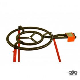 Perfect Home 13359 Paella gázégő M50 50cm-es 2körös