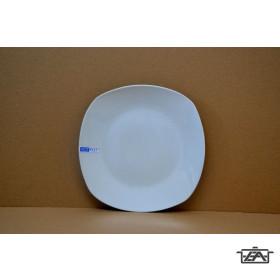Porcelán lapos tányér 162014 szögletes 27cm Alba