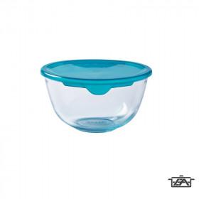 Pyrex 203213 Keverőtál műanyag fedővel 2 liter Prep and Store
