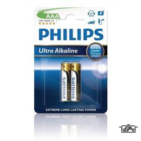 Philips PH-UA-AAA-B2  Ultra Alkaline AAA 2db
