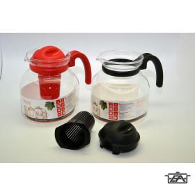 Hőálló teakanna 232412 szűrővel 1,85 liter mikrózható