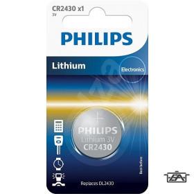 Philips PH-CR2430-B1  Lithium CR2430 3V  1 db