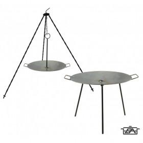 Perfect Home 28337 Vas grill tárcsa - boronatárcsa kétfunkciós 50 cm