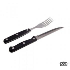 Banquet 453283BK12-A BBQ Steak evőeszközkészlet 12 részes