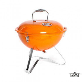 Happy Green 5022014EDO Grillsütő fedéllel Picnic Orange