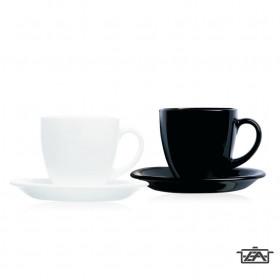 Luminarc Teás csésze készlet, porcelán, 6db, 22cl, Carine, 502633