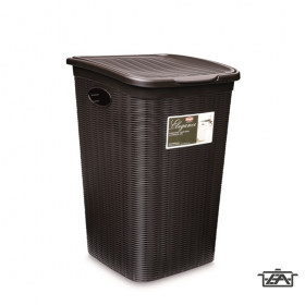 Elegance 51774 Szennyestartó 50 literes barna Kifutó termék!