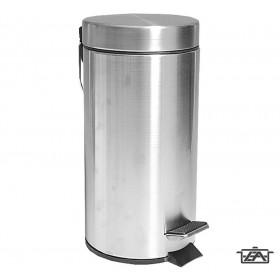 Korona 62000204 Pedálos szemetes rozsdamentes 30 literes matt