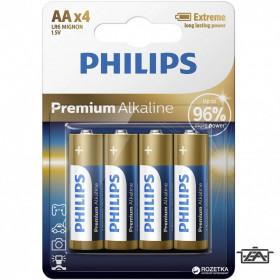 Philips PH-PR-AA-B4 Premium Alkaline elem AA 4db
