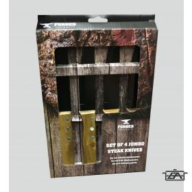 BestOn 23365425 Fanyelű steak kés szett 25cm