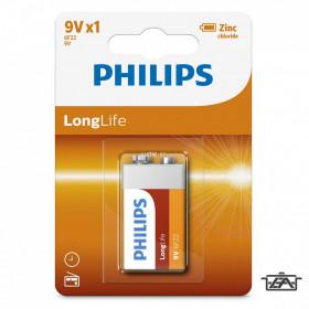 Philips PH-LL-9V-B1 LongLife 9V elem 1db