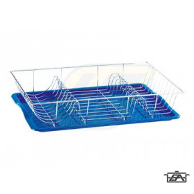 Artex 90032 Krómozott edényszárító műanyag tálcával