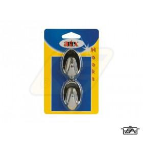 Artex 90396 Öntapadós akasztó Króm 2 db-os
