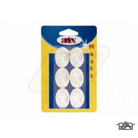 Artex 90398 Öntapadós akasztó kicsi 6 db