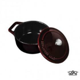 Berlinger Haus Edény, 10 cm, öntöttvas, Mini pot, Burgundy Collection BH6495