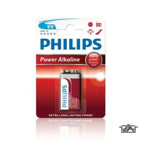 Philips PH-PA-9V-B1  Power Alkaline 9V elem 1db