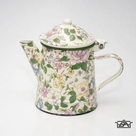 Zománcozott virágos kávéfőző 0,5 liter