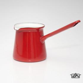 Zománcozott kávékiöntő piros 0,25 liter