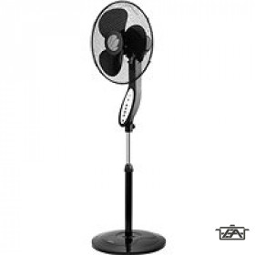 ECG  FS 40 R Álló ventillátor távirányítóval 40 cm fekete