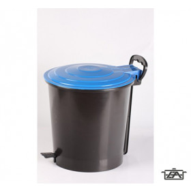 Plastor Trading 38717 ERGO 10 l-es, pedálos szemetes
