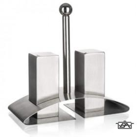 Banquet 28680110 Rozsdamentes só és borsszóró szett 3 részes Akcent