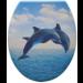 Panitalia Wc ülőke, duroplast, delfines, P-A